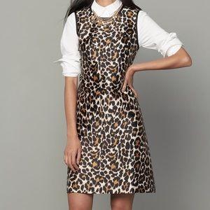 J. Crew Leopard Shift Dress